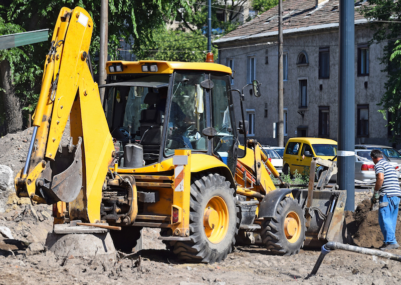 Backhoe Loader (3cx) Training